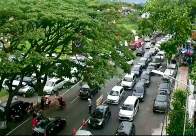 Kemacetan Kota Wisata Batu