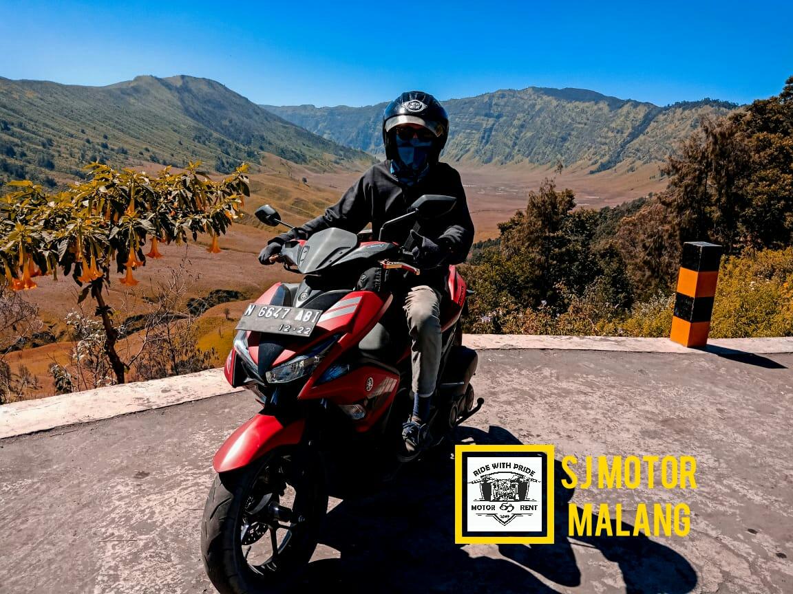 Sewa Motor ke Bromo dari Malang